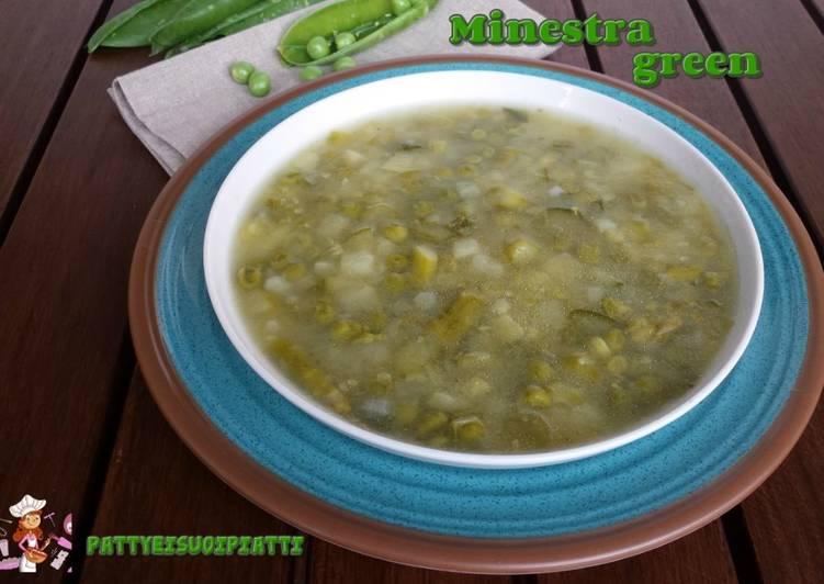 Ricetta Minestra green depurativa