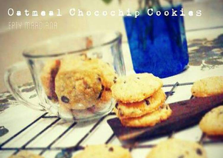 Oatmeal Chocochip Cookies