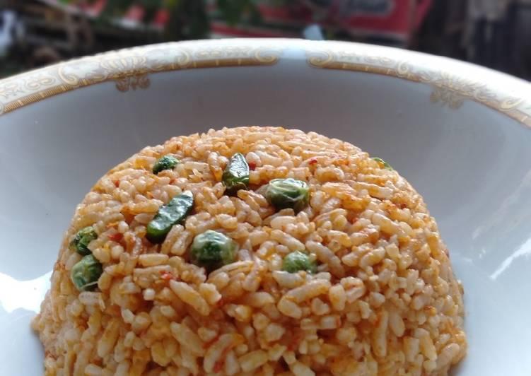 Nasi goreng terung Pipit dan rawit