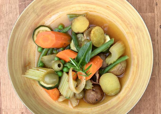 Menestra de Verduras 🌱 Spanish veggie soup or stew