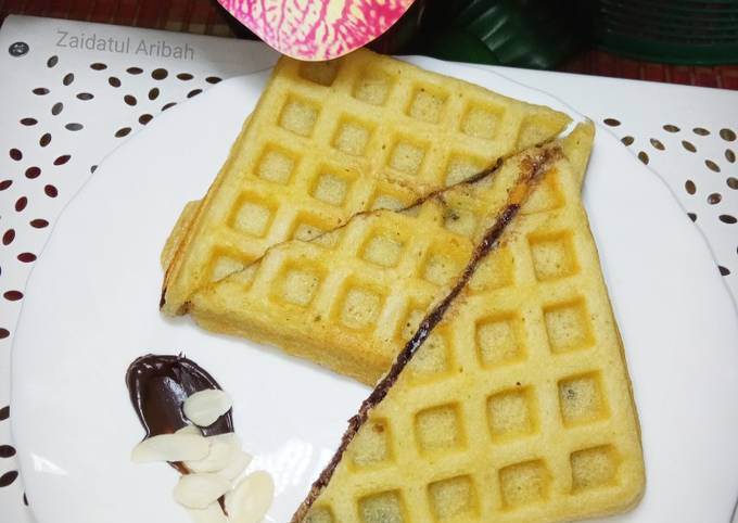 Waffle Cake Gebu and Lembut🧇