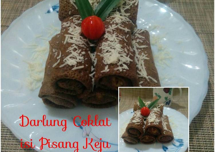 Darlung Coklat isi Pisang Keju