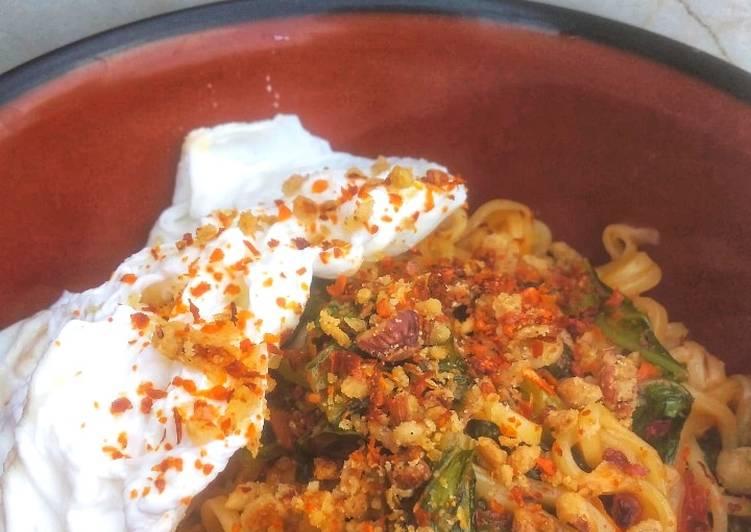 Resep Indomie goreng nyemek pedas Paling dicari