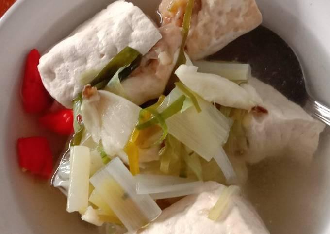 Sup bakso tahu udang