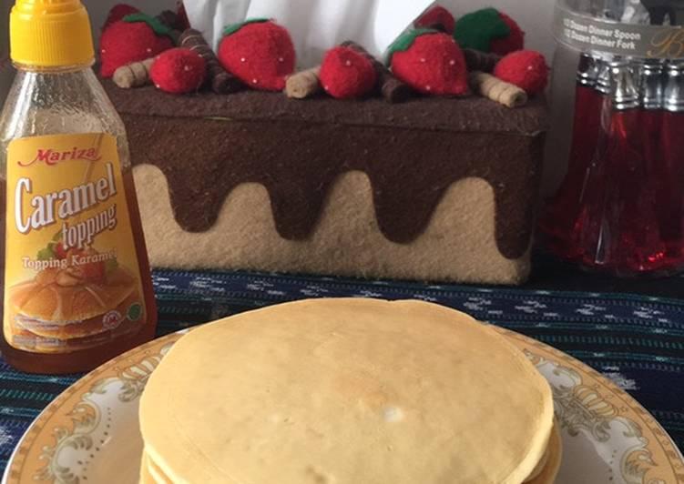 Resep Pancake sederhana dan lembut Bikin Laper