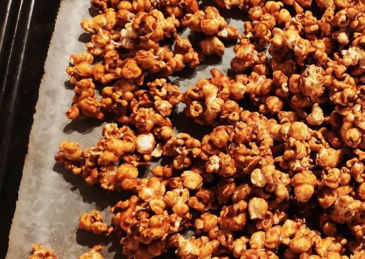 Recipe of Favorite Salted Caramel Popcorn