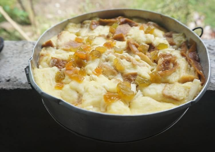 Resep Bread butter with vla Bikin Laper