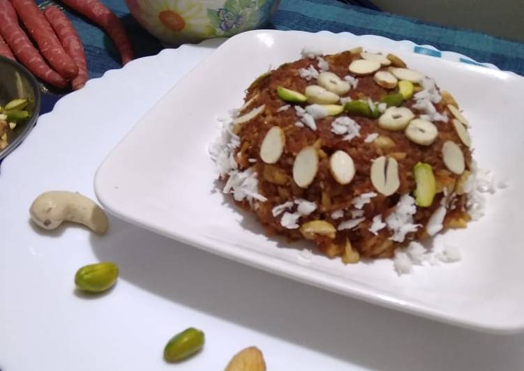 Recipe: Appetizing Carrot Halwa
