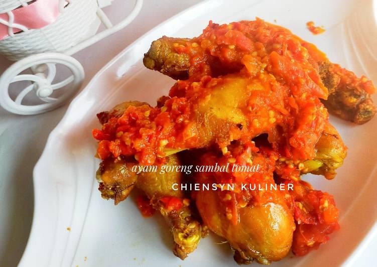 Langkah Mudah untuk meracik Ayam goreng sambal tomat, Sempurna