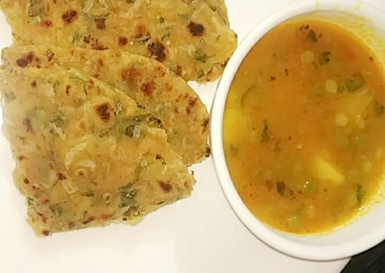 Step-by-Step Guide to Make Homemade Radish chapati (mullangi masala chapati)