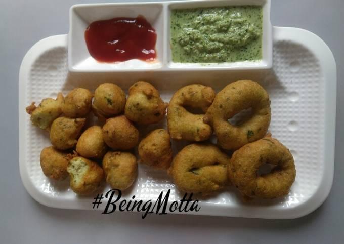 Recipe of Speedy Spinach Medu vada