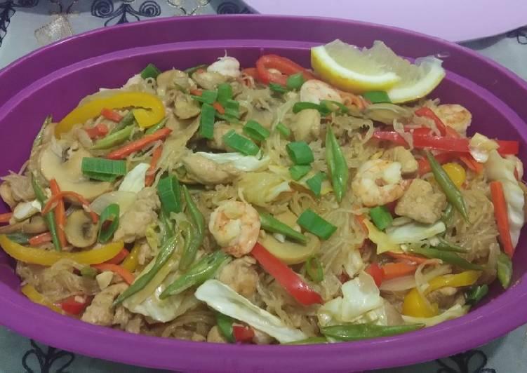 Pancit/Stir fry Vermicelli/soun goreng ala2 Pinoy