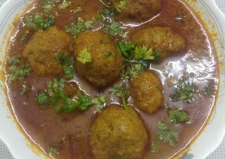 Mutton mince kofta curry Choosing Fast Food That's Very good For You