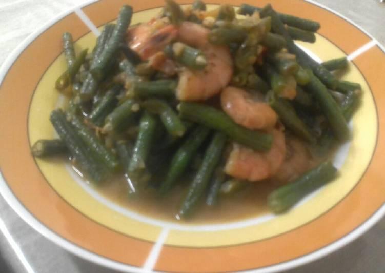 Resep Sayur kacang panjang Yang Mudah Pasti Enak