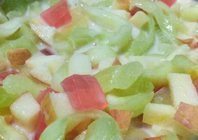 Soup buah buka puasa