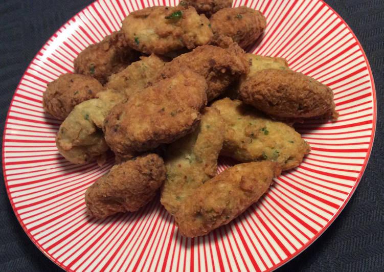 Boulettes de poulet façon Accras