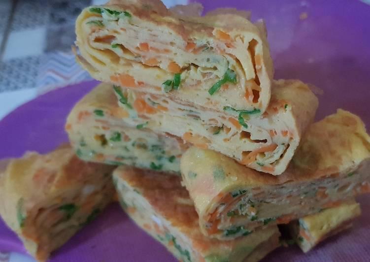 Resep Tamagoyaki telur dadar jepang ala upie Bikin Laper