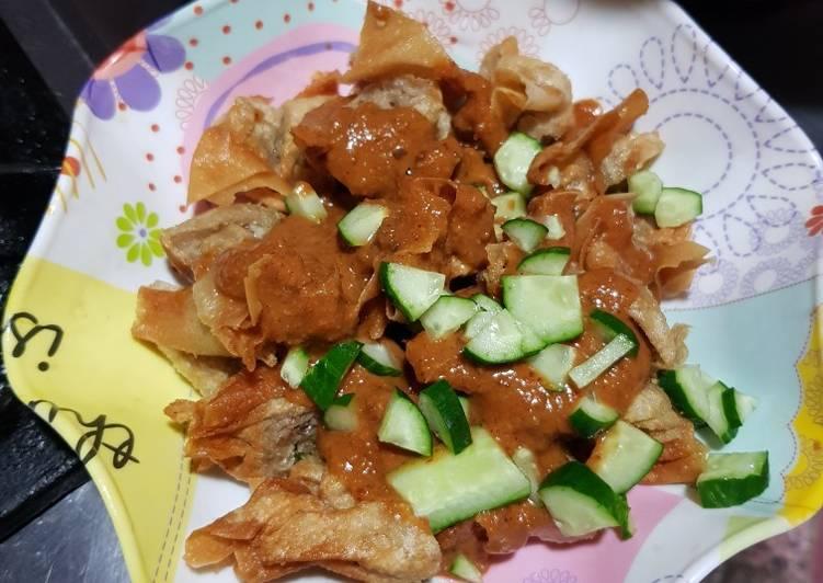Cara masak Batagor bandung rumahan  Sederhana
