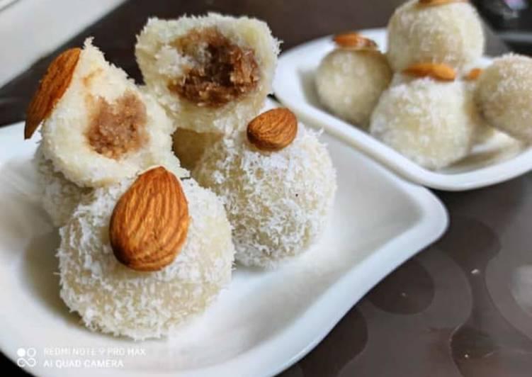 Chocolate truffle Coconut ladoos