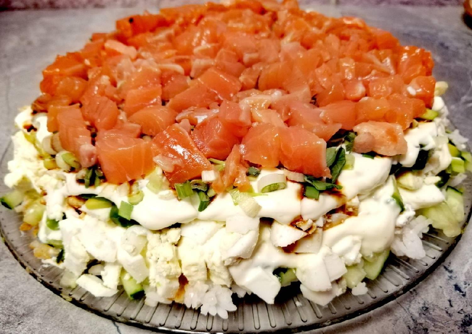 салат суши пошаговый рецепт с фото улице иль