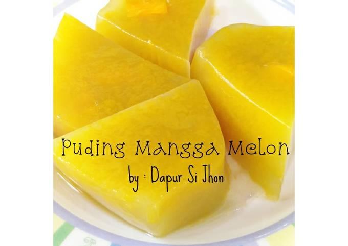 Puding Mangga dan Melon