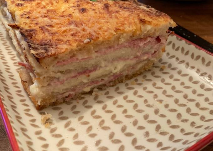☆Croque Cake Jambon Fromage☆