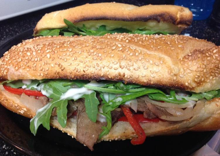 Horsey Steak Sandwich