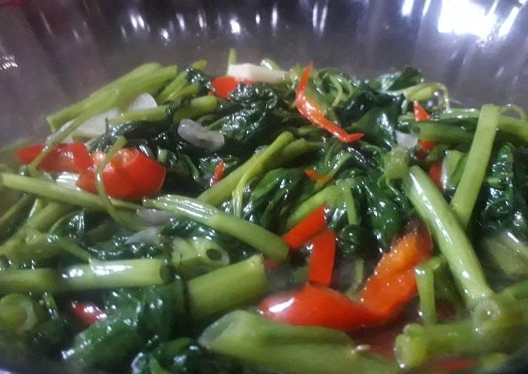 "Sayur kangkung ala"" Restaurant 😆"