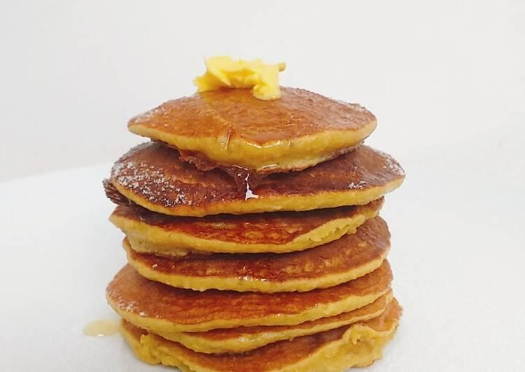 Resep Healthy Banana Pancake Paling Joss