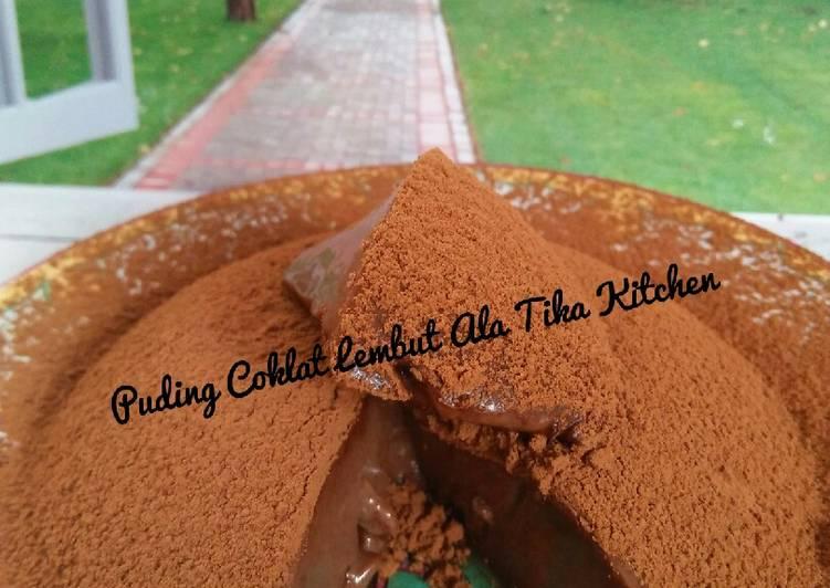 Puding Coklat Lembut