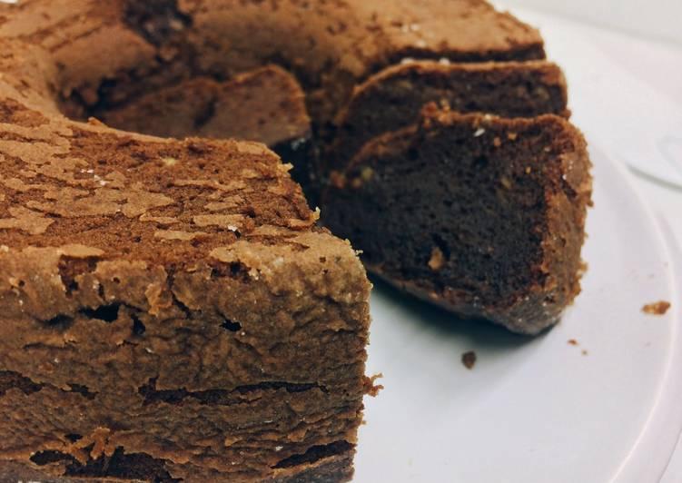 Langkah Mudah untuk Menyiapkan Brownies pisang kukus, Lezat