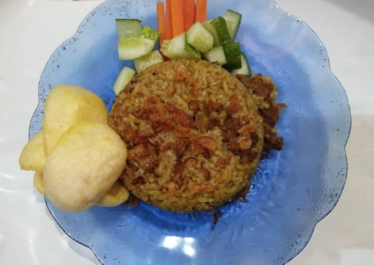 Nasi briyani dari beras lokal