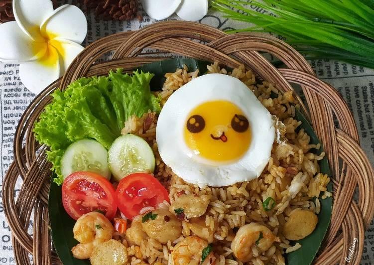 Nasi Goreng Bakso Seafood