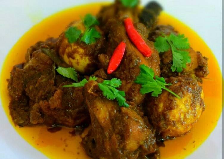 Chicken Dakbungalow Curry