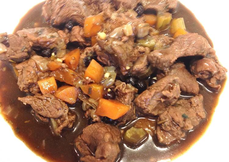Venison with Junipers