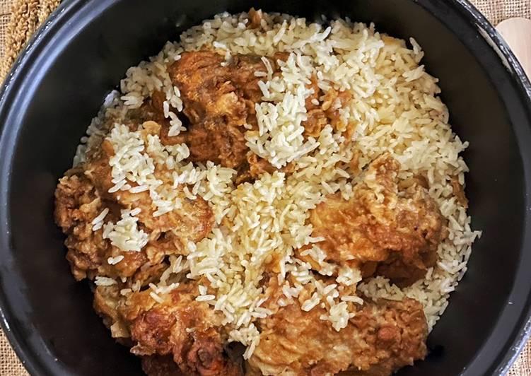 Nasi Hainam Ala KFC