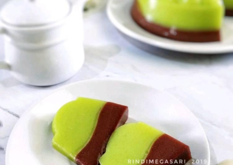 199. Puding Susu Melon Milo