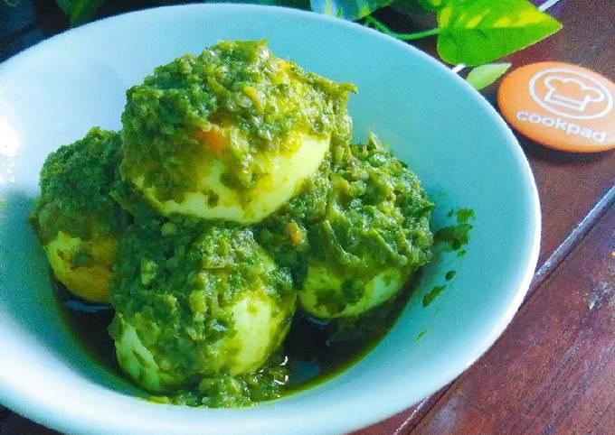 Telur Balado Cabai hijau