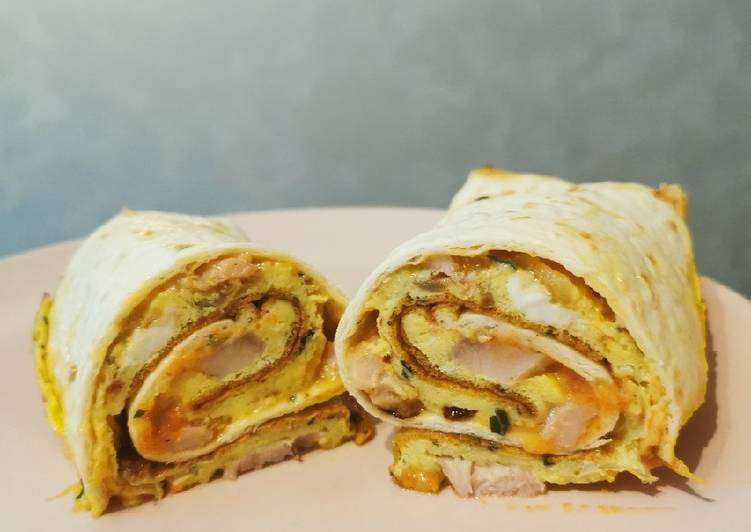 Recipe: Perfect Omelette rouler