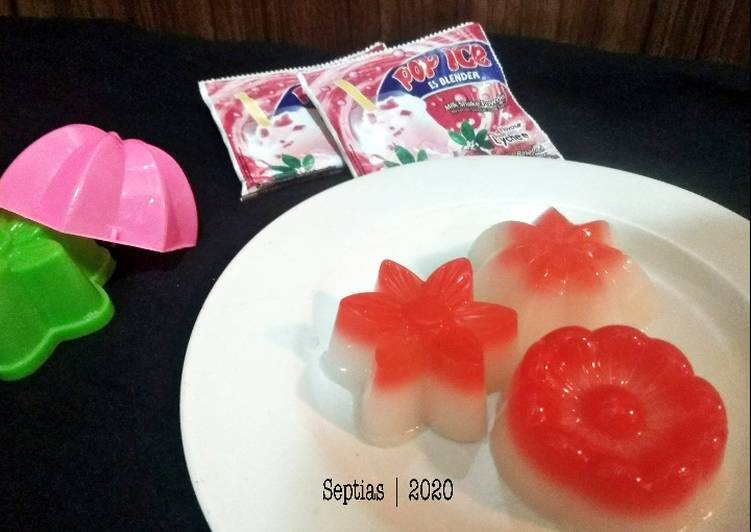 Puding Pop Ice Leci
