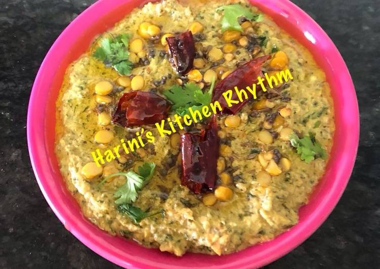 Simple Way to Make Homemade Amaranthus(cholayee or rajgira) chutney