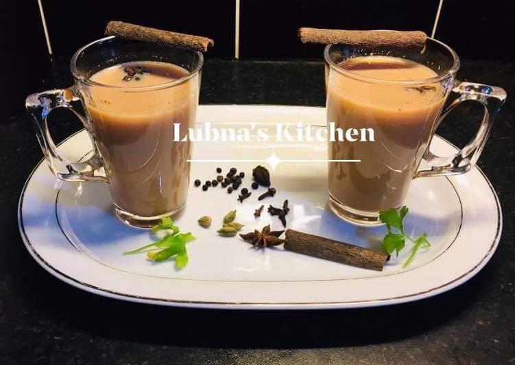 Recipe of Super Quick Homemade Masala chai  Masala Tea
