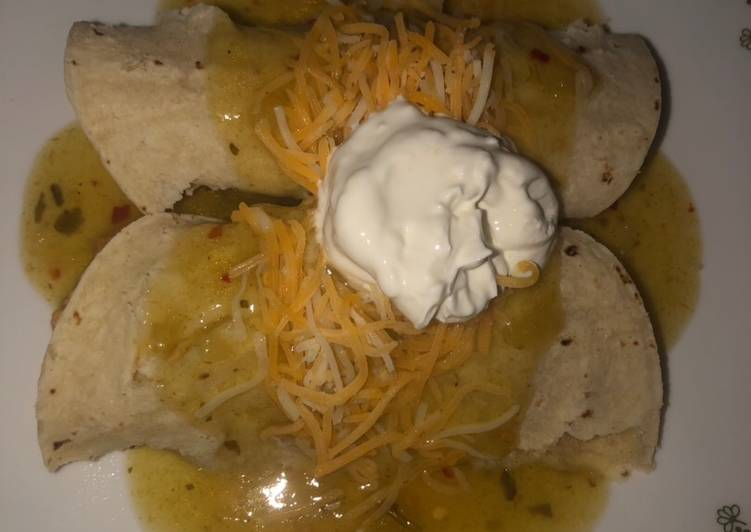 Recipe of Award-winning Tijuanas enchiladas
