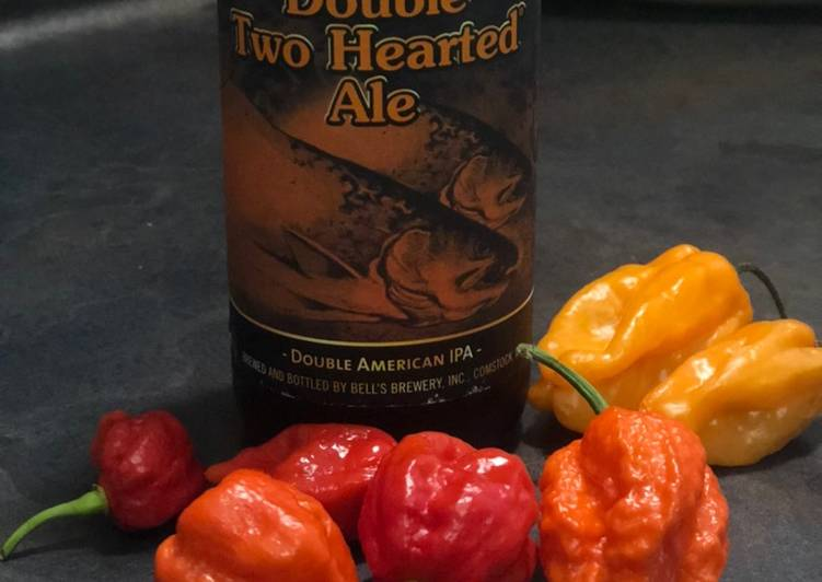 Double Trouble Double IPA hot sauce