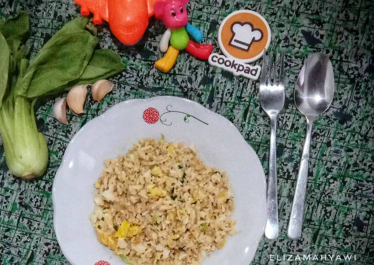 Resep Nasi goreng pakchoy Bikin Laper