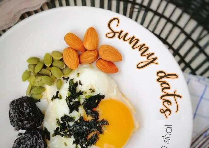 Sunny dates sarapan sihat
