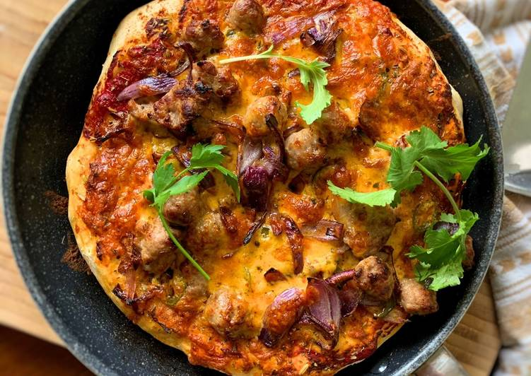 Recipe: Appetizing Cheats Deep Pan Pizza