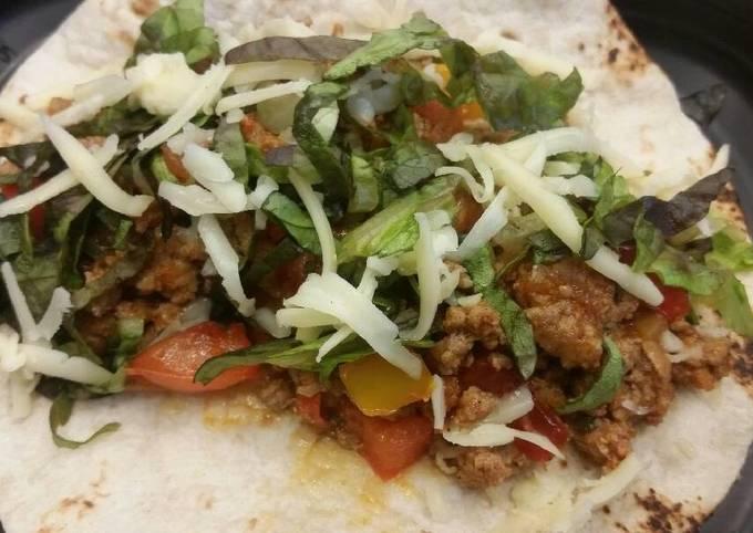 Guajillo Turkey Tacos