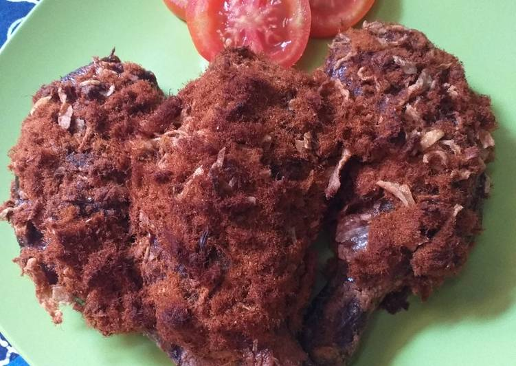 9 Resep: Crunchy Floss Chicken (Ayam Goreng Abon) Anti Gagal!