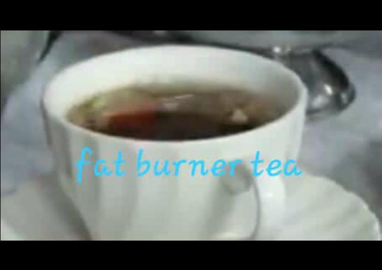Recipe: Appetizing Fat burner tea or weight loss tea